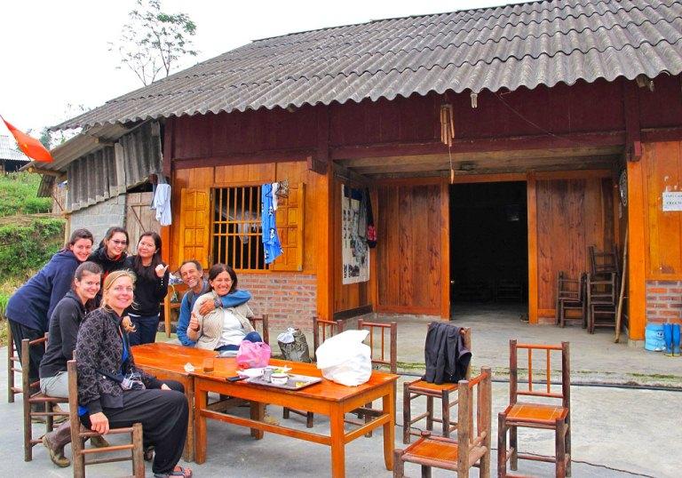 Home stay A Chông - xã La Pán Tẩn - Mù Cang Chải